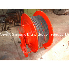 Cina 33 Mm Spring Loaded Reel, Gulungan Kabel Ekstensi Industri Horisontal Vertikal pabrik