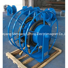 Mortor Driven Metal Hose Reel, Heavy Duty Hose Reel Transportasi Aman