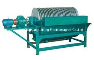 Cina Penambangan Drum Magnetic Separator, Magnetic Drum Pulley 19 R / Min Speed pabrik